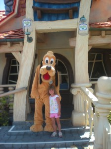 Pluto Mickey's Toontown